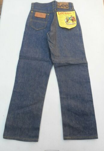 lee riders sanforized 1950s denim jeans Boy