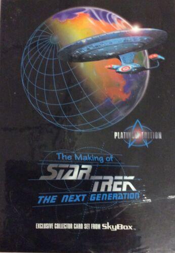 Star Trek Edition Sealed Factory Box 36 Packs//Box 1994 SkyBox Master Series