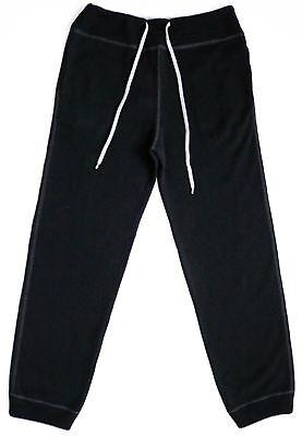 $1830 TOM FORD Black 100% Cashmere Lounge Track Jogging Sweatpants Size 52 Euro