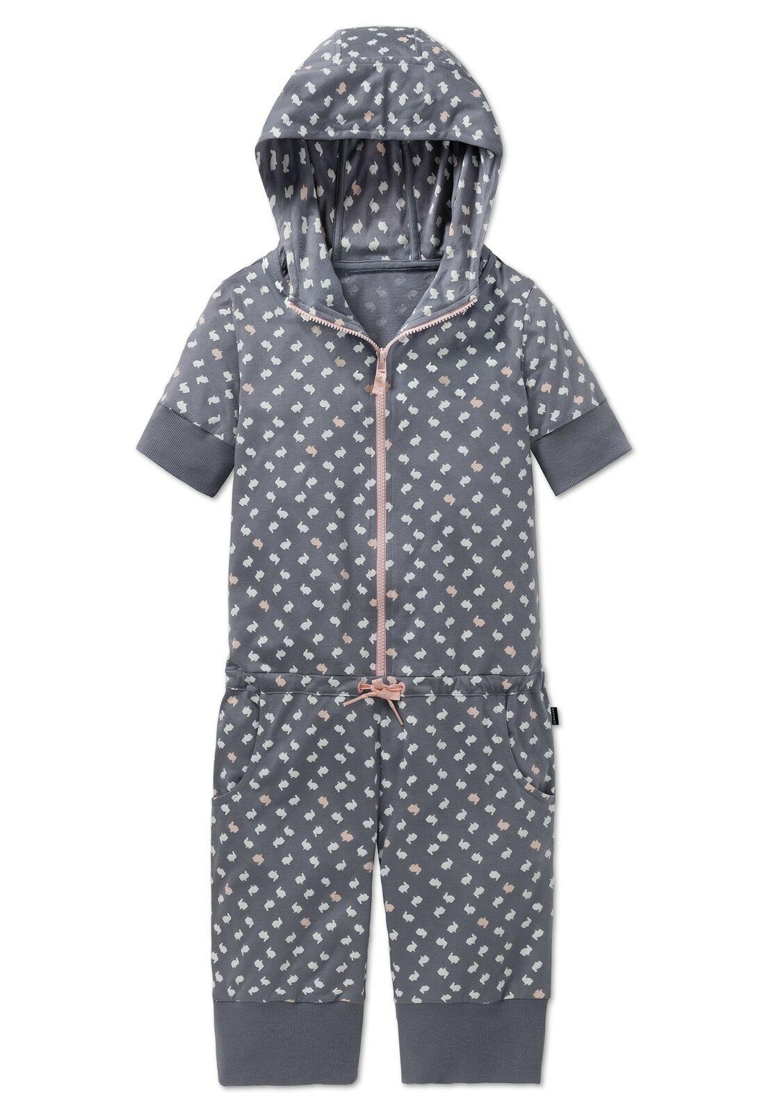 "SCHIESSER Mädchen Schlafanzug Jumpsuit Pyjama kurz ""Mix & Relax"" NEU*UVP 39,95"