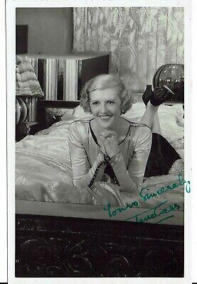 Jane Carr Hand Signed Vintage Postcard  5 x 3 + C.0.A