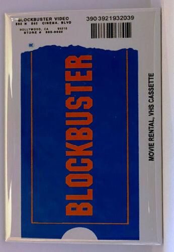 """Blockbuster MAGNET 2""""x3"""" Refrigerator Locker Movie Poster"""