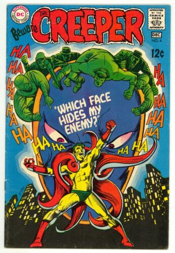 Beware The Creeper (1968) #4 1st Prt Steve Ditko Great Art Denny O