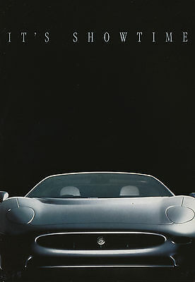 Jaguar XJ 220 Prospekt 1992 D brochure Sportwagen Auto PKWs England broschyr car