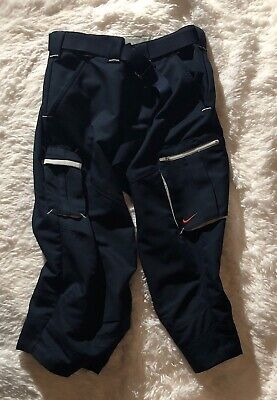 Nike Fitory Women's Size Small 4-6 Blue Belted Sport Ladies Capri Pants