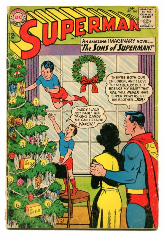 SUPERMAN # 166
