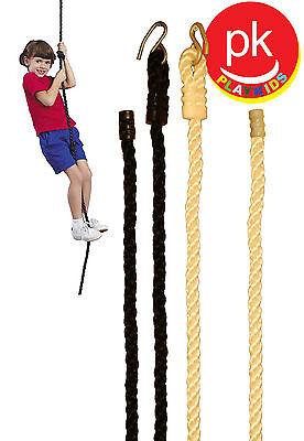 Climbing Rope Cargo Net Swing Set climbing net  Playground ROPE  Play Set Black