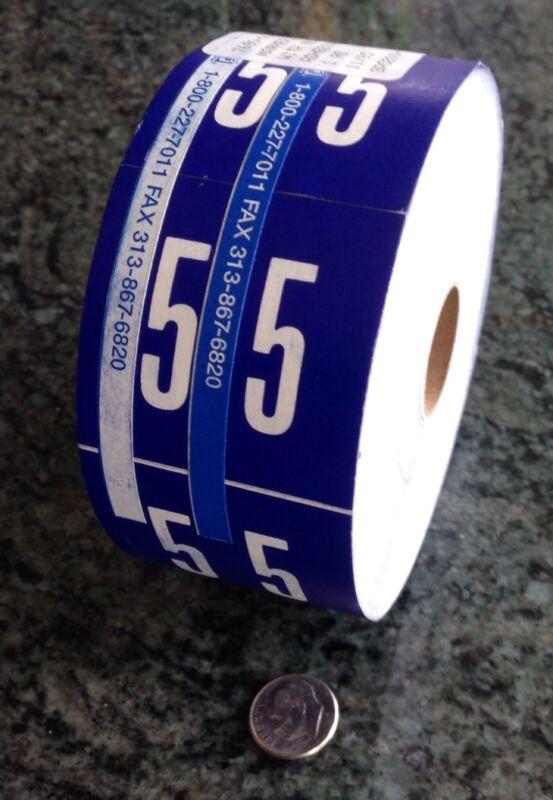 1 roll  X-ray film file  folder sticker Markers Imaging Xray Marker Film No 5