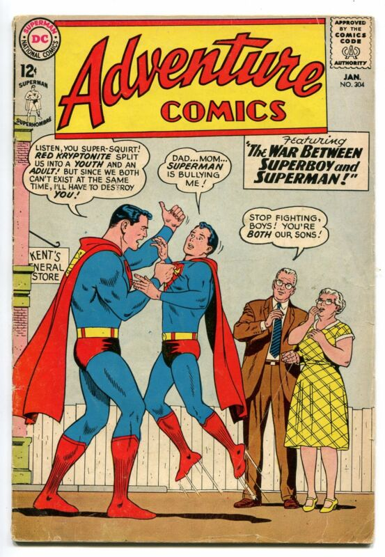 ADVENTURE COMICS # 304