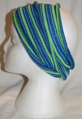 New Fair Trade Long Hair Band Wrap Hippy Ethnic Rasta Dreads Surf