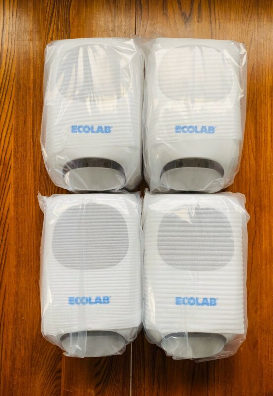 ECOLAB NG Manual Hand Hygiene Soap Dispensers Product 9202-2952 (Lot Of 4)