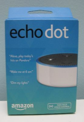 Amazon Echo Dot White 2Nd Generation With Alexa   Brand New