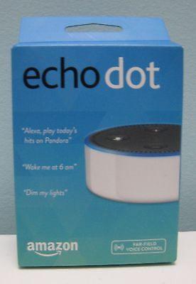 Amazon Echo Dot White 2Nd Generation With Alexa   Brand New