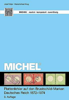 """MICHEL-Handbuch """"Plattenfehler bei Brustschilde"""", Aufl.3 , Frei Haus + Geschenk"""