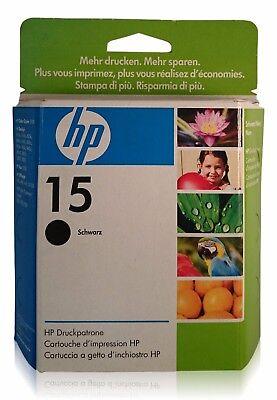 Original HP 15 C6615DE Black Tintenpatrone ungeöffnet (DZK06-09) ()