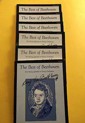 The Best Of Beethoven, for String Quartet or String Orchestra, edited by Paul (Best Beethoven String Quartets)