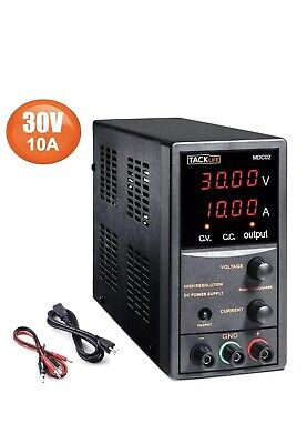 Dc Power Supply Variable Adjustable Switching Regulated Power Supply 30v 10a...