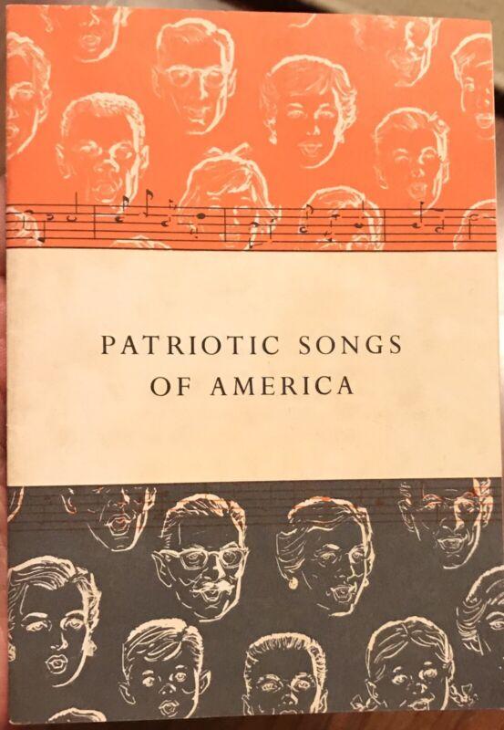 VINTAGE 1956 JOHN HANCOCK PATRIOTIC SONGS OF AMERICAYANKEE DOODLE DANDY DIXIE  3