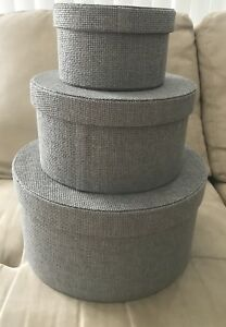 Moving Sale storage boxes baskets set of 3 absolutely brand new