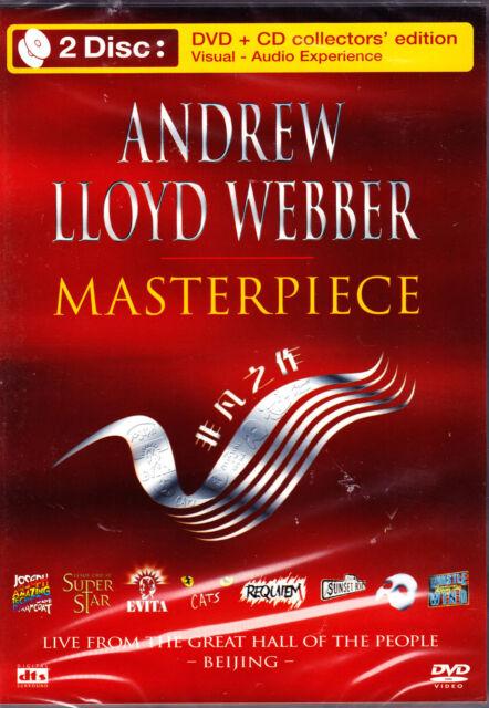 ANDREW LLOYD WEBBER masterpiece DVD + CD NEU OVP