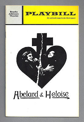 "Diana Rigg ""ABELARD and HELOISE"" Keith Michell 1971 Broadway FLOP Playbill"