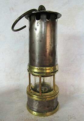 o Lampe de mineur Marsaut charbonnage Many Seraing éclairage mine