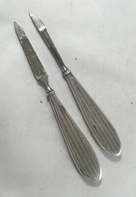 ARt Deco Silver Manicure Tools Horton & Allday Birmingham 1919 A70017