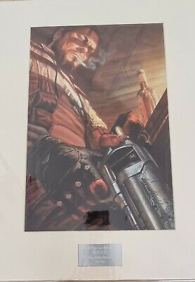 """Starcraft Raynor """"Justice"""" LaserCel High-Quality Original Litho by Alex Ross"""