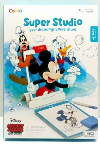 Osmo Super Studio Mickey Mouse & Friends iPad Game - Base Required - drawing NEW