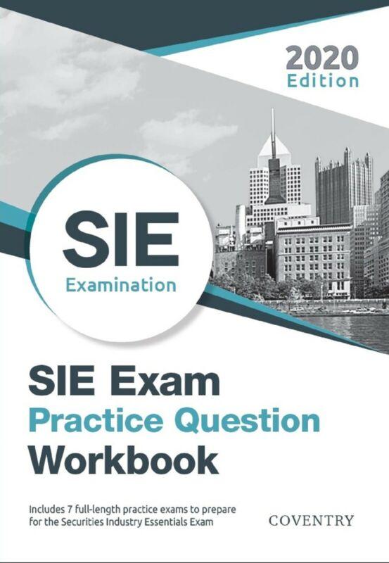 "PDF ONLY - ""SIE Exam Practice Question Workbook"" - 2020 Edition"