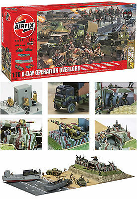 1:72 GEBÄUDE A50162 D-Day Operation Overlord Gift Set - AIRFIX
