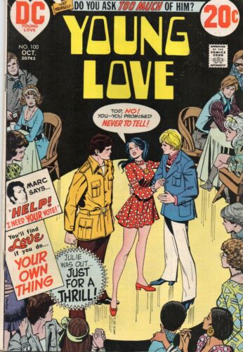YOUNG LOVE #100 DC 1972