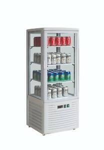 JCD235W -  Commercial Glass Display Drink Fridge