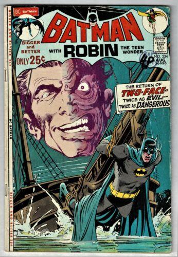 Batman #234 (DC September 1971) Mid-Grade - 1st Harvey Dent as Two-Face