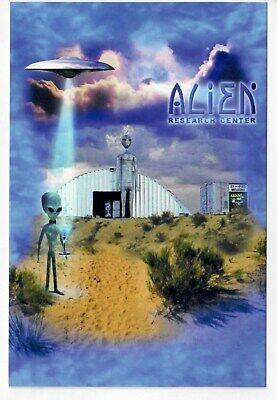 Center Postcard - Alien Research Center Postcard Area 51 Hiko Nevada Visitation Im Nr Rachel Storm