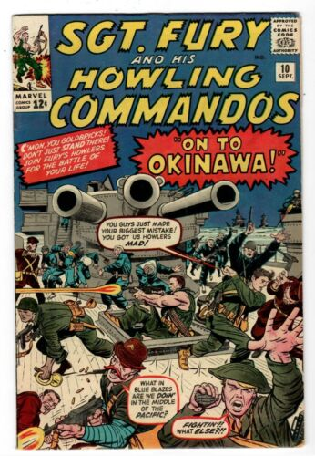 Sgt. Fury and His Howling Commandos #10 Very Fine