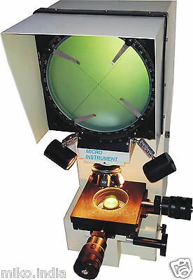 Profile Projector Optical Comparator Digital Measuring Micrometer 200mm Screen