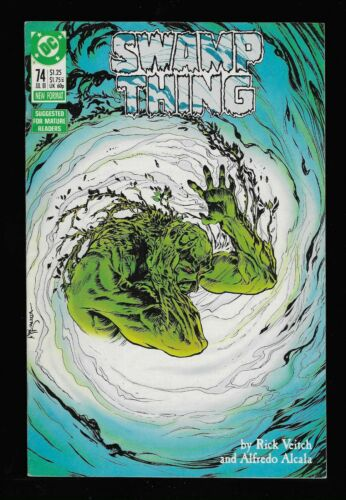 Swamp Thing (Vol 2) # 74 (DC 1988 High Res Scans) $5 Unlimited Shipping!