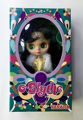 Takara CWC ALL GOLD IN ONE Petite Mini BLYTHE Doll PBL-015 NRFB OOP RARE