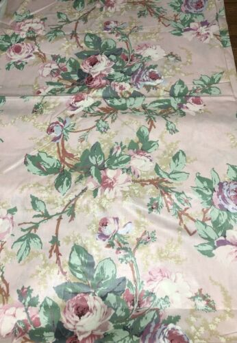 Vintage Shabby Chic Duchess Home Dec Fabric by Cyrus Clark Out of Print