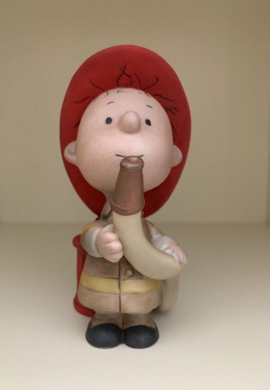 Hallmark Peanuts Gallery Pigpen Firefighter Figurine Number Edition, Used