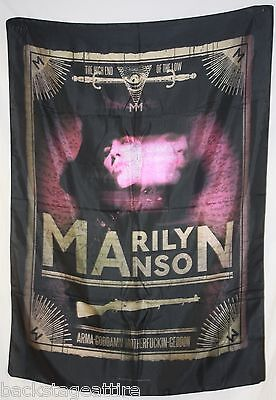 MARILYN MANSON TAROT CARD Cloth Fabric Poster Flag Textile Tapestry-New!!