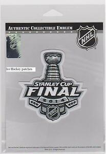 2014 STANLEY CUP FINAL JERSEY PATCH NHL HOCKEY PATCH AUTHENTIC LICENSED