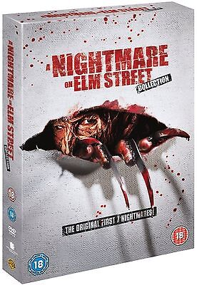 A NIGHTMARE ON ELM STREET Series 1-7 Complete Collection Part 1 2 3 4 5 6 7