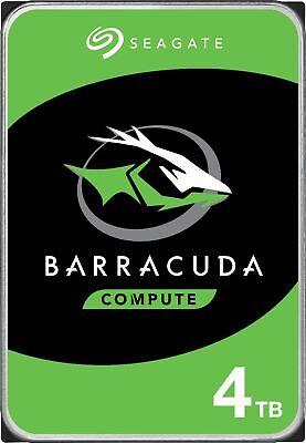 Seagate - Barracuda 4TB Internal SATA Hard Drive for Desktops