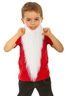 Fake White Beard (Fake White Beard Costume for Kids Dwarf Costume Beard Gnome Costume)