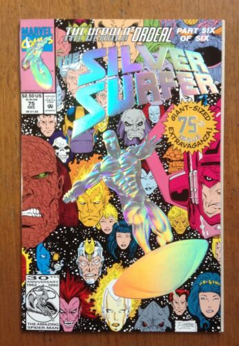 Silver Surfer #75 (1992) Very Good cond