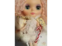 * NEW * WOW PULLIP DOLLHOUSE BLYTHE MINI FROSTED CHRISTMAS TREE