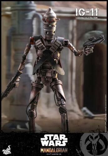 Hot Toys Star Wars Mandalorian IG-11 Figure TMS008 - Grogu, Baby Yoda