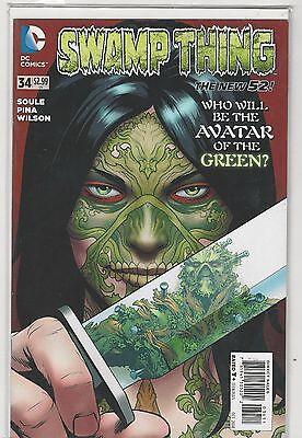Swamp Thing #34 New 52 vol 5 DC Comics 2011 NM-